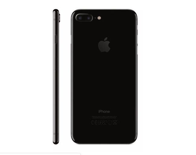 Carcaça Com Aro Chassi Mid Frame Com Flex Apple Iphone 7G Plus Preto