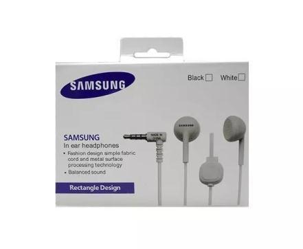 Fone de Ouvido P2 Samsung Com Microfone Rectangle Desing