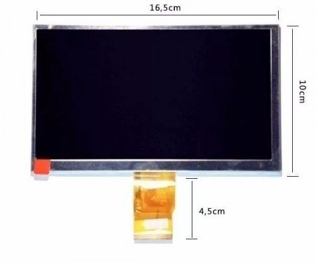 Display Lcd Tablet  M7 7.0  Multilaser