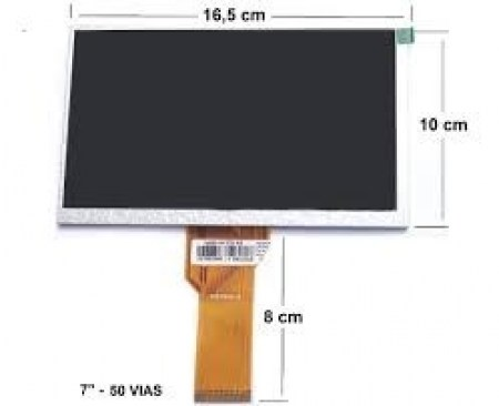 Display Lcd  Tablet  Tb 200 7a-b111a 4.0-7a-r111a 4.0 Philco